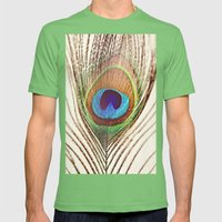 Peacock Mens Fitted Tee Grass SMALL