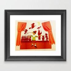 Pinocchio Framed Art Print