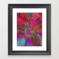 Hippie Goop Framed Art Print