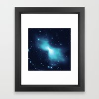 Space Dust Framed Art Print