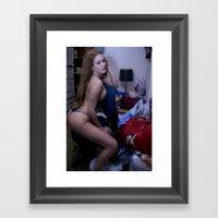 A Sexy Mess Framed Art Print