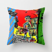 And How Was Your Day? Throw Pillow