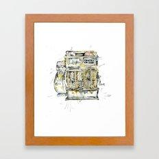 Cash In Framed Art Print