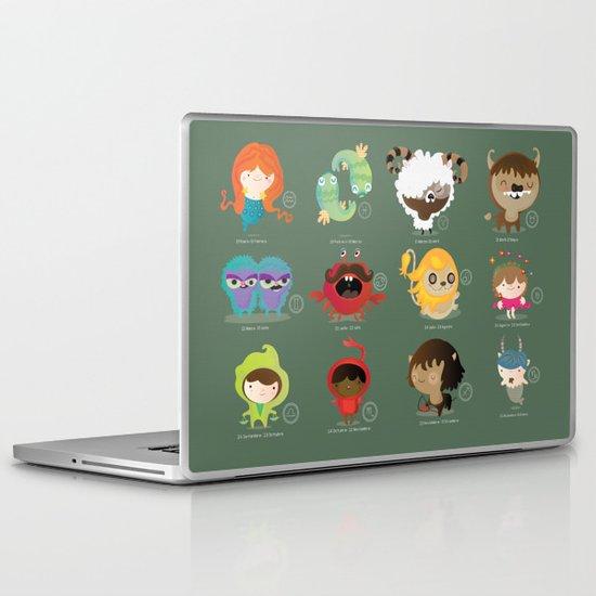 The zodiac Laptop & iPad Skin