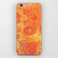 Sunflower Field -- Abstr… iPhone & iPod Skin
