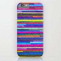 Broken Stripes iPhone 6 Slim Case