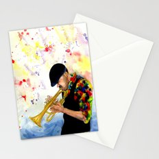 The Colors of Jazz Stationery Cards