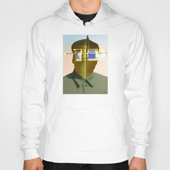 Mao as wound 4 Collage Hoody