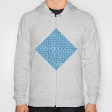 Blue Cubes - Geometric Work Hoody