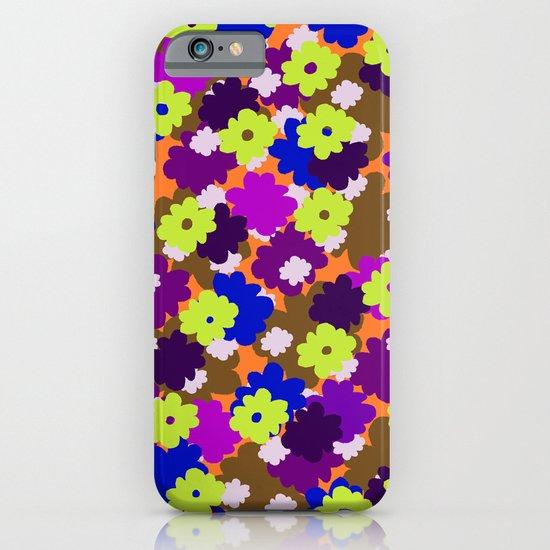 Fall Fun Flowers iPhone & iPod Case