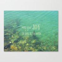 Ocean of Joy Canvas Print