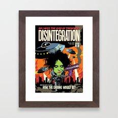 TFTS | Disintegration Framed Art Print