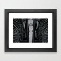 Don´t look back Framed Art Print