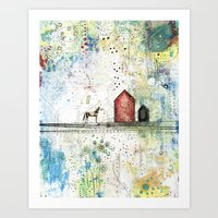 Art Print featuring Pony Up by Sarah Ogren