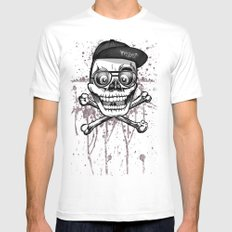 City of despair and good fortune Mens Fitted Tee SMALL White