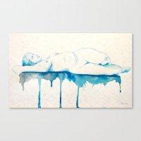 Sueño I Watercolor Acua… Canvas Print
