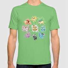 Eeveelutions Mens Fitted Tee Grass SMALL