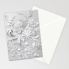 Elegant White Stationery Cards