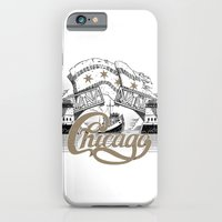 chicago iPhone & iPod Cases featuring Chicago by pakowacz
