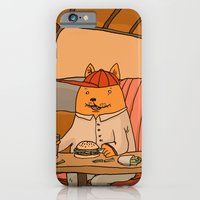 iPhone & iPod Case featuring American Fast Food by Les Gordon
