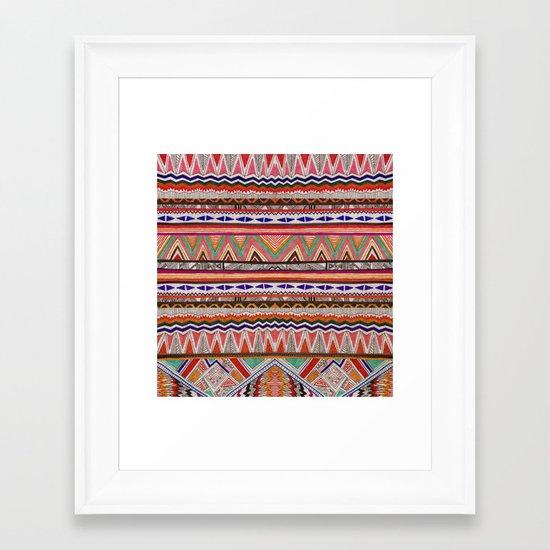 TRIBAL NOMAD Framed Art Print