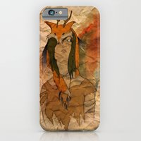 iPhone & iPod Case featuring Forest Princess by Kassidy Daussin