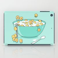 Early Morning Party iPad Case