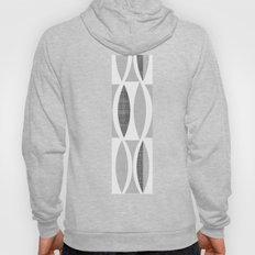 Seventies Black and White Hoody