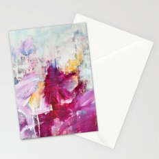 abstract landscape - variation Stationery Cards