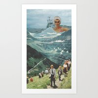 By Land Or Sea Art Print
