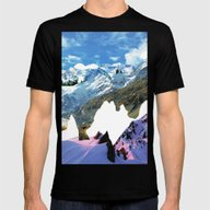 Experiment Am Berg 29 Mens Fitted Tee Black SMALL