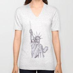 C3PO Liberty Unisex V-Neck