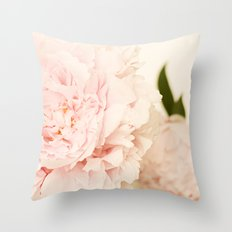 Peony No.2 Throw Pillow