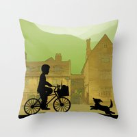 Childhood Dreams, Special Delivery Throw Pillow