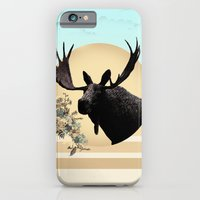 iPhone & iPod Case featuring Moose by bri musser