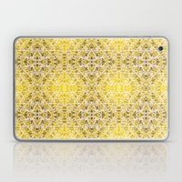 Random rope on gold foil Laptop & iPad Skin