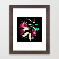 Moving Forward Framed Art Print
