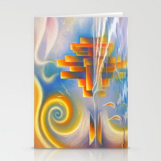 Dream City Stationery Card