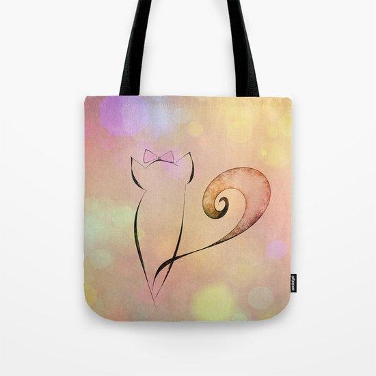 Dreamy Cat Tote Bag