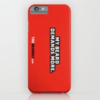 iPhone & iPod Case featuring MY BEARD DEMANDS MORE. by The Beardly