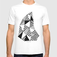 Ijsberg Mens Fitted Tee White SMALL