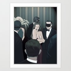 THE CENTERPIECE Art Print
