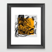 COURTCIRCUIT Framed Art Print