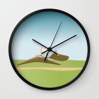 The Horse Rider Wall Clock
