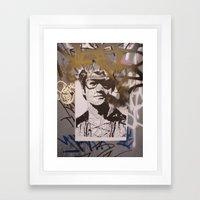 Art On The Run: Unknown Artist, NYC Framed Art Print