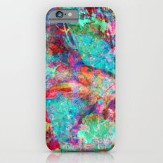 abstract orchid iPhone 6 Slim Case