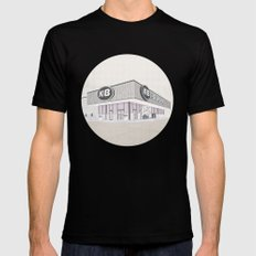 I Assure You, We're Open (clerks) Mens Fitted Tee Black SMALL