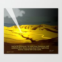 The Road To Damascus Canvas Print