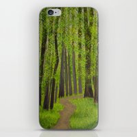 Spring Forest iPhone & iPod Skin