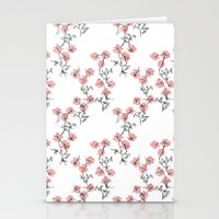 X Flowers Stationery Cards